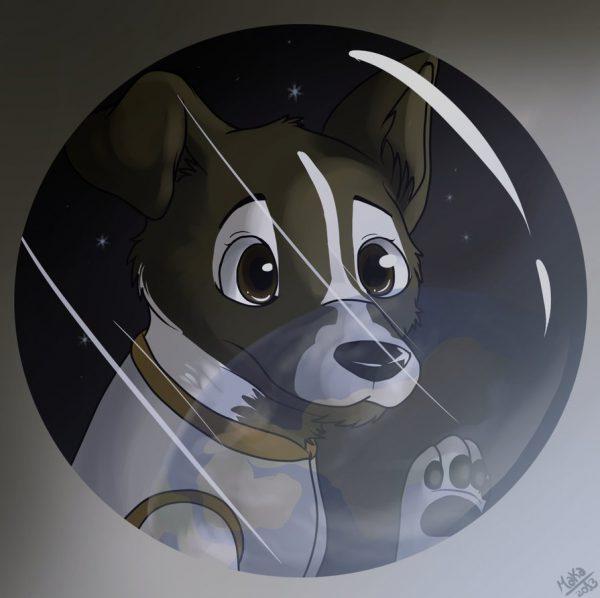 Laika anime photo