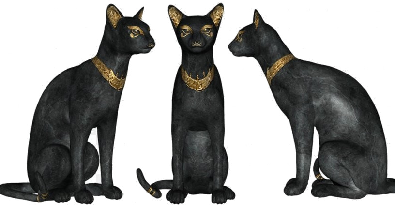 Ancient Egyptians loved cats