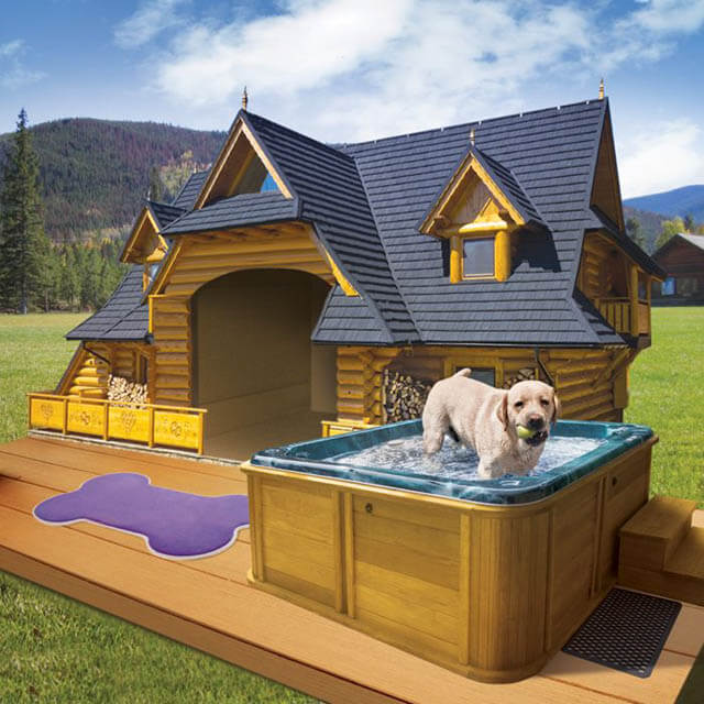 Luxury Dog Mansion